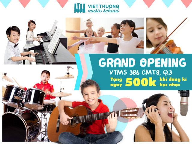 Grand Opening VTMS 386 CMT8 Quận 3