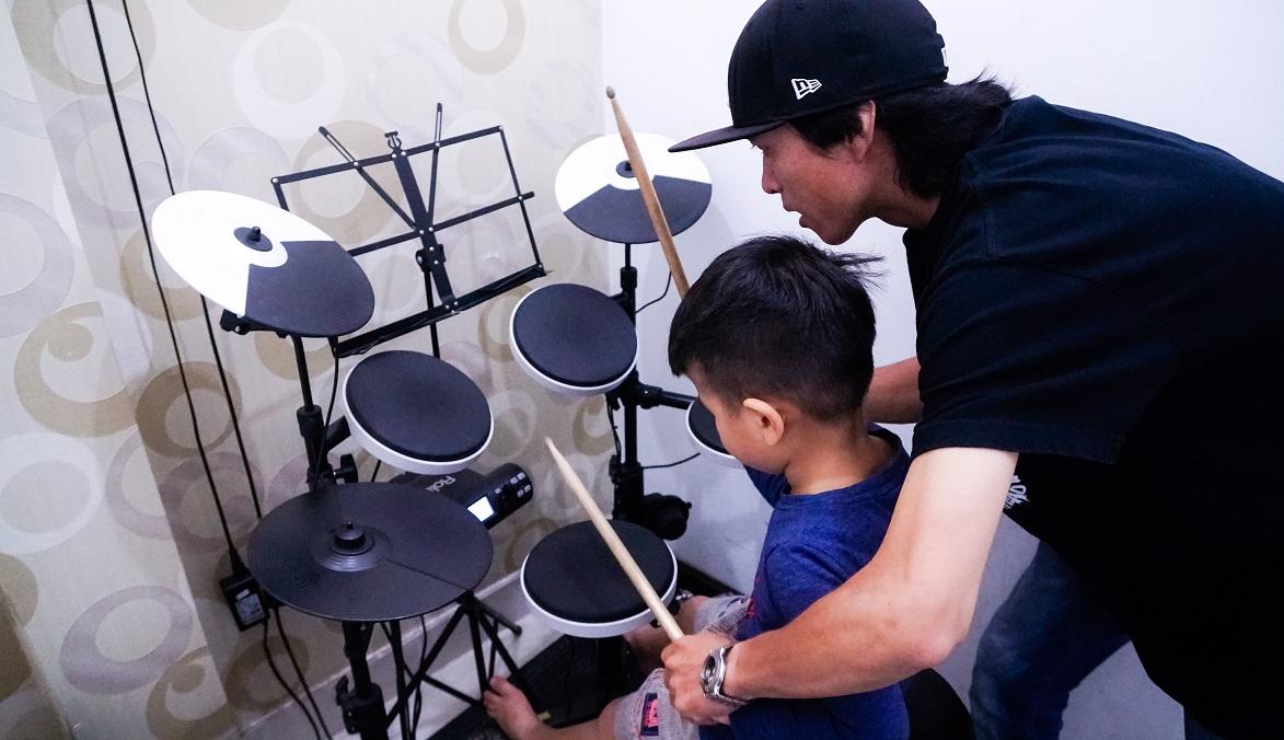 Khóa học đánh trống điệu Rumba