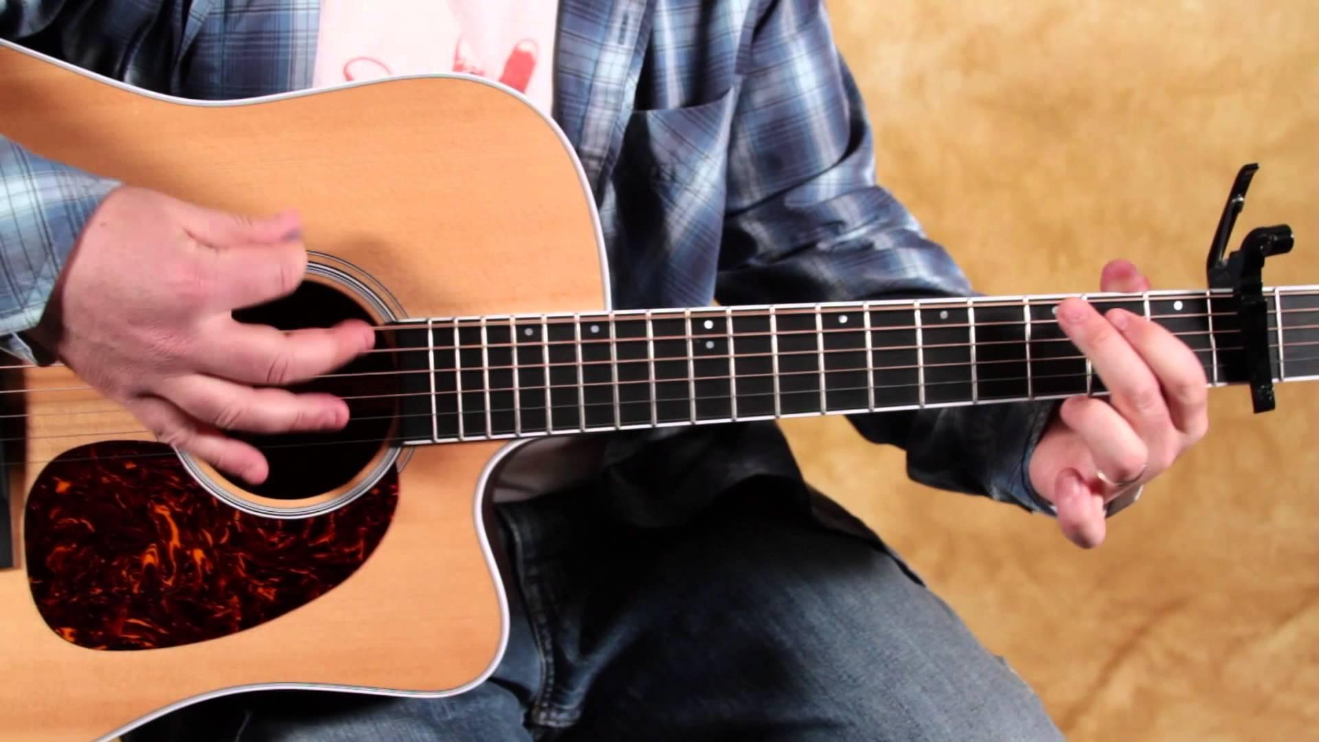 Hướng dẫn chơi đàn Guitar Acoustic