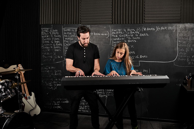 học đàn piano cơ bản