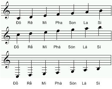 Học Nốt nhạc, Hợp âm, Nhạc lý cơ bản Piano