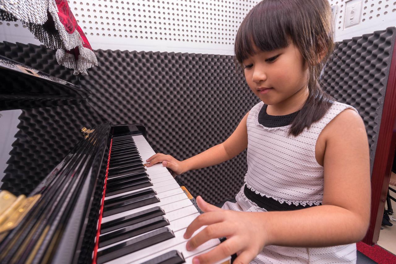 Khóa học đàn Piano cho trẻ từ 4 tuổi