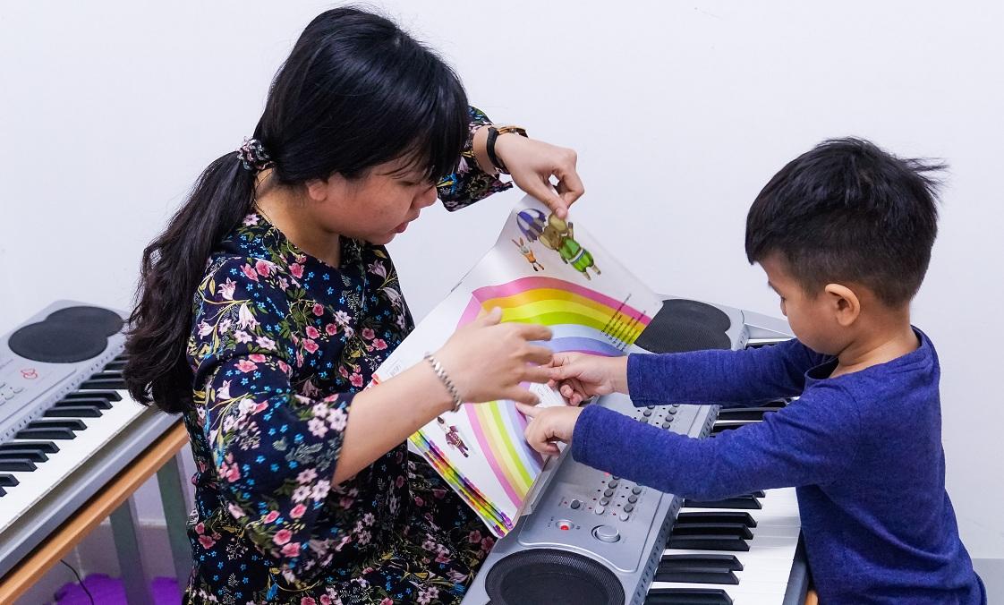 Lợi ích khi cho bé học đàn Organ