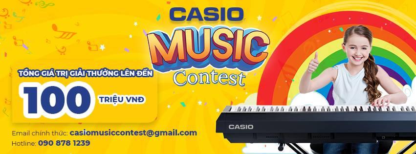 PIANO CASIO MUSIC CONTEST tại Việt Thương