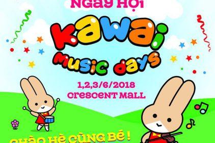 Đăng ký học thử miễn phí Kawai Music cho các bé