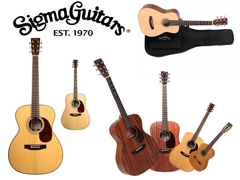 Cách phân biệt Guitar Sigma thật và nhái