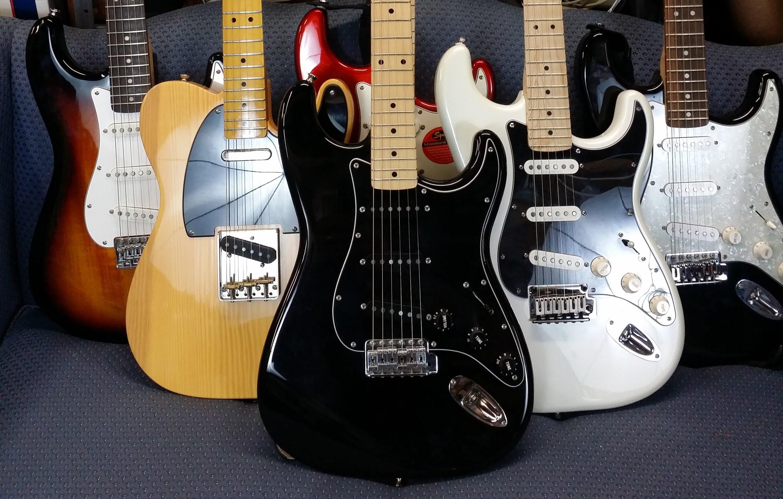 Cách phân biệt đàn Guitar Squier thật và nhái