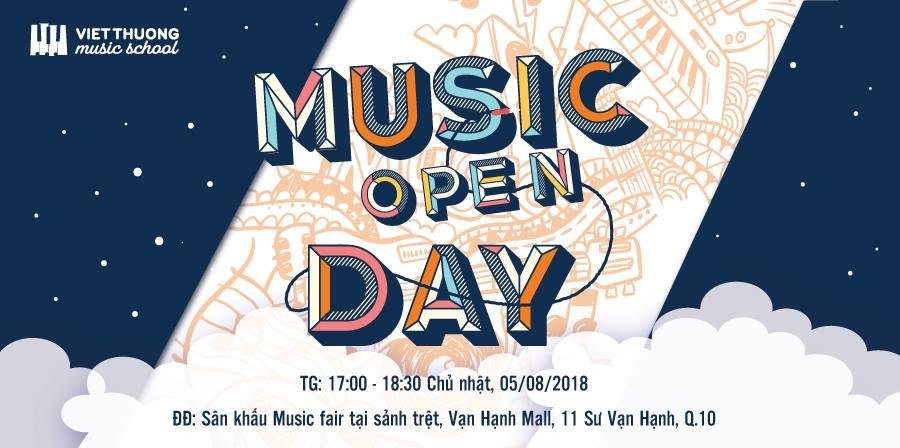 Music Open Day tại Vạn Hạnh Mall Quận 10