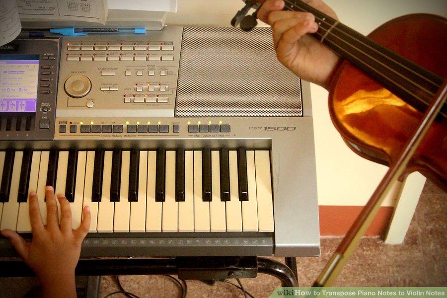 Hướng dẫn chuyển đổi các nốt Piano thành các nốt Violin