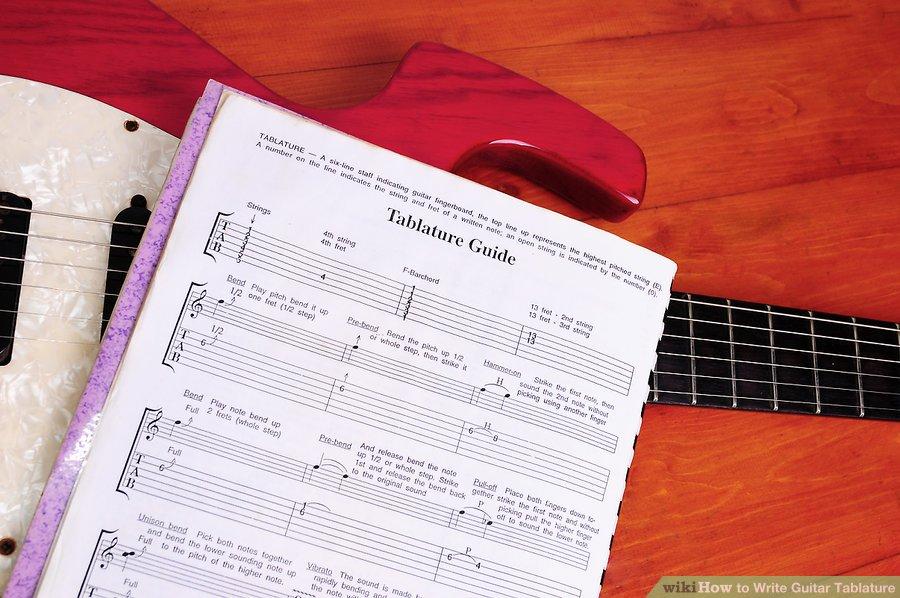 Hướng dẫn cách viết Tab (Tablature) Guitar