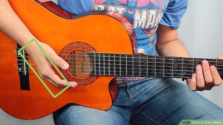 Cách sử dụng kĩ thuật Palm mute trên Guitar
