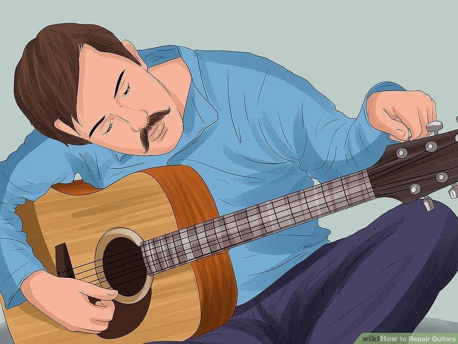 Cách chuẩn đoán và sửa các bộ phận đàn Guitar tại nhà