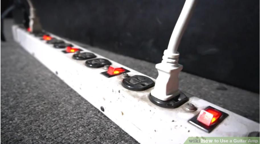 Cách sử dụng Amp khi chơi đàn guitar