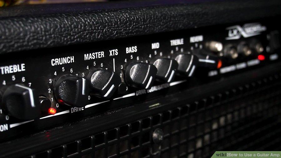 Thử chơi với các núm khác trên amp