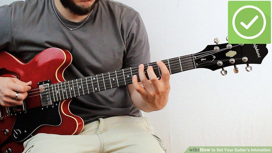 Lặp lại các bước trên như hướng dẫn cho mỗi dây bằng bộ tinh chỉnh nhạc cụ một cách thường xuyên.