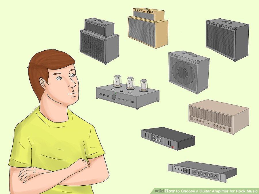 Lựa chọn âm thanh phù hợp từ amp