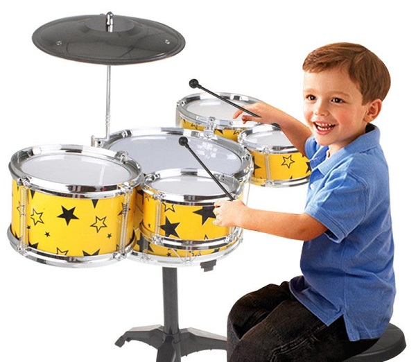 Mách bạn cách chọn trống đúng nhất cho trẻ khi mới học chơi