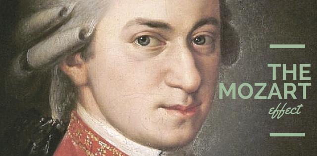 """hiệu ứng Mozart"""" để khuyến khích việc học âm nhạc từ nhỏ."""