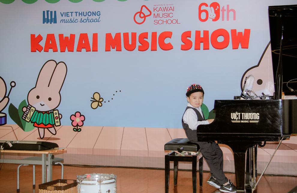 Cùng bé khám phá thế giới âm nhạc với Chương trình Kawai Music
