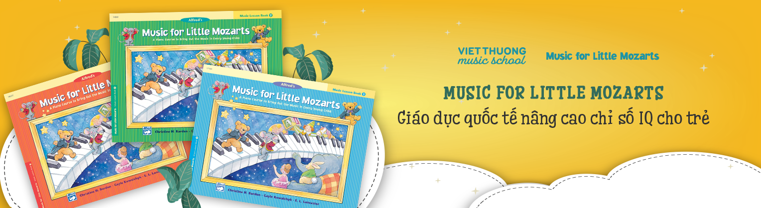 Chuột Mozart và Gấu Beethoven: những người bạn âm nhạc của tuổi thơ