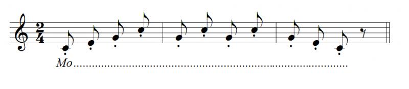 1.2.5. Rèn luyện kĩ thuật hát staccato (hát nảy)