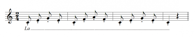 Rèn luyện kĩ thuật hát staccato (hát nảy)