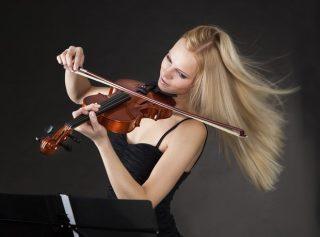học đàn violin chưa tiến bộ