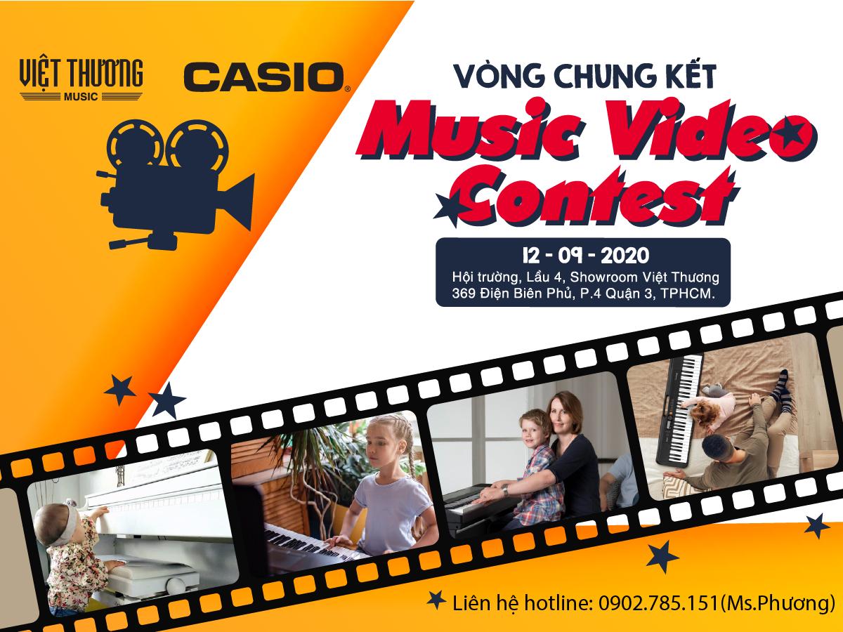 Thông báo vòng chung kết Music Video Contest