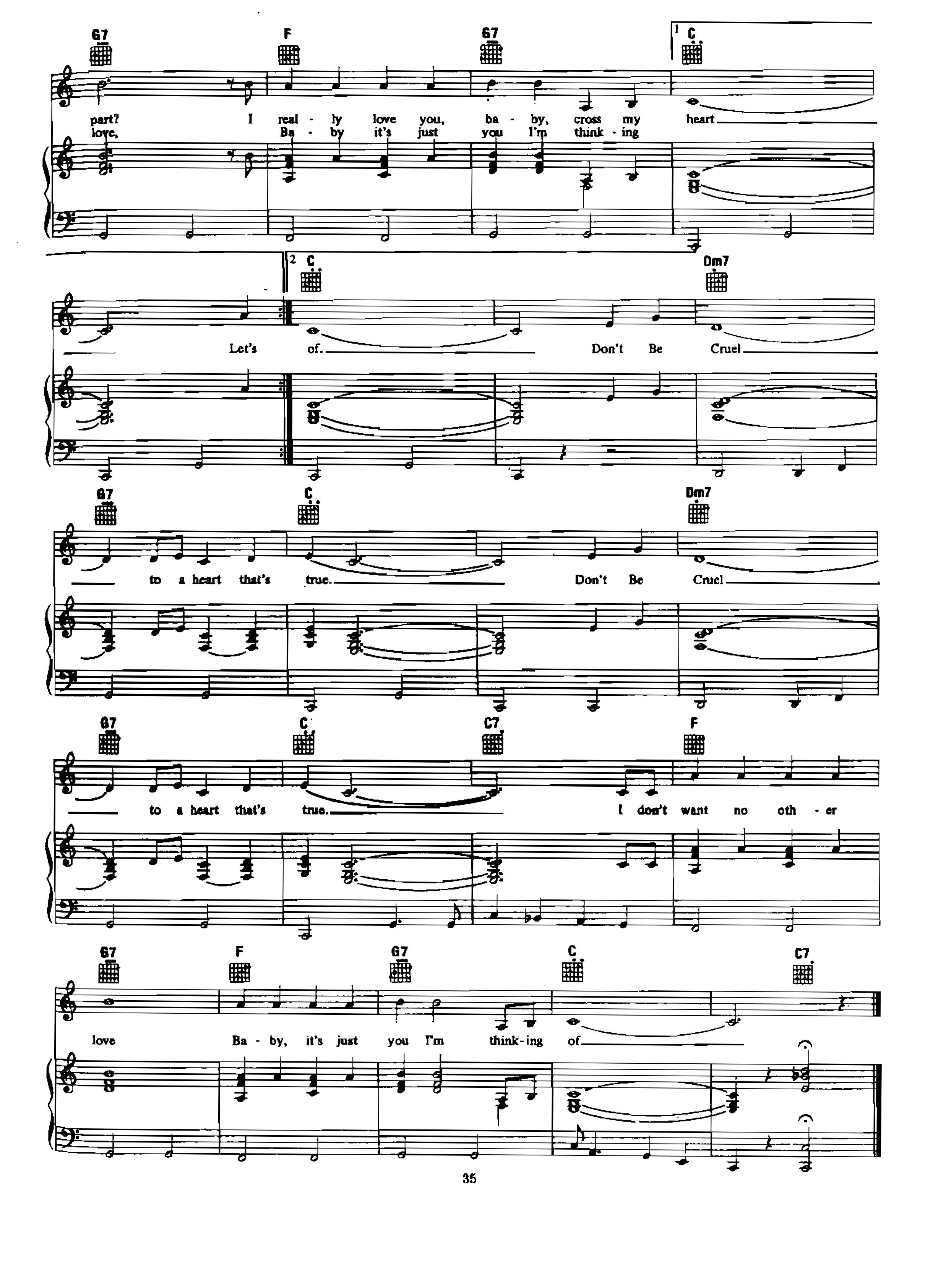 Chia sẻ: Elvis Presley với các ca khúc nổi tiếng soạn cho Piano và Guitar Don't be Cruel