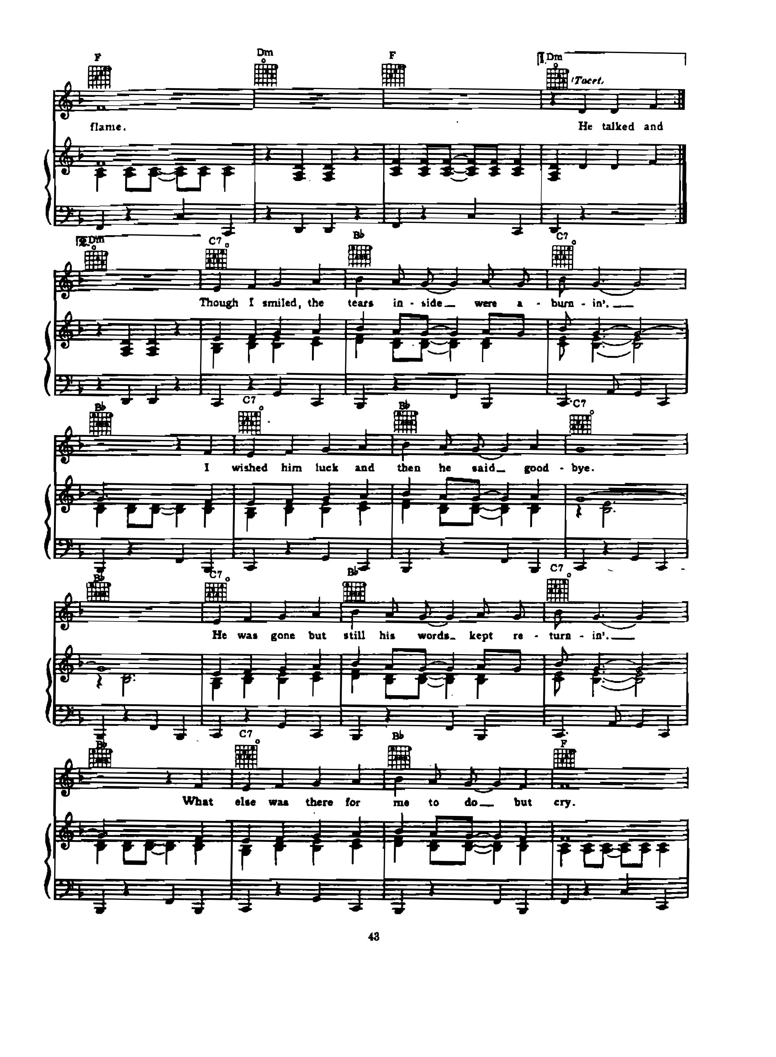 Chia sẻ: Elvis Presley với các ca khúc nổi tiếng soạn cho Piano và Guitar His latest flame (Maire's the name)