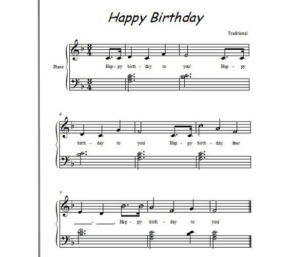 bản nhạc piano