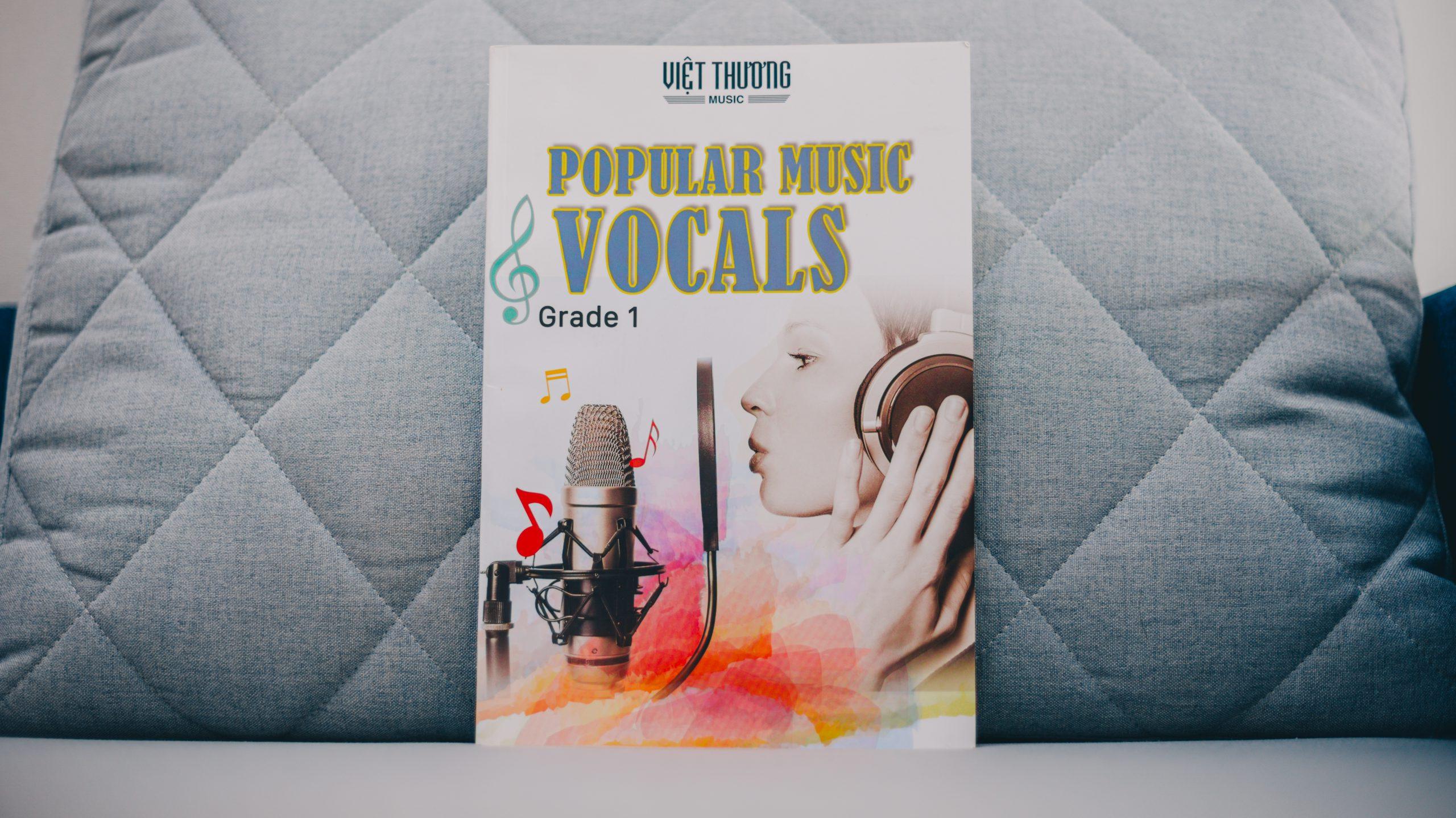 Giáo trình khóa học Vocals (Thanh nhạc) tại Việt Thương Music