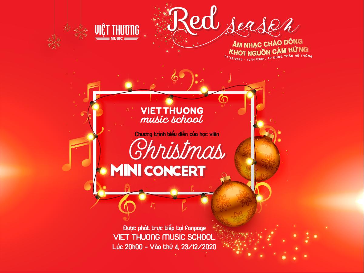 việt thương christmas mini concert