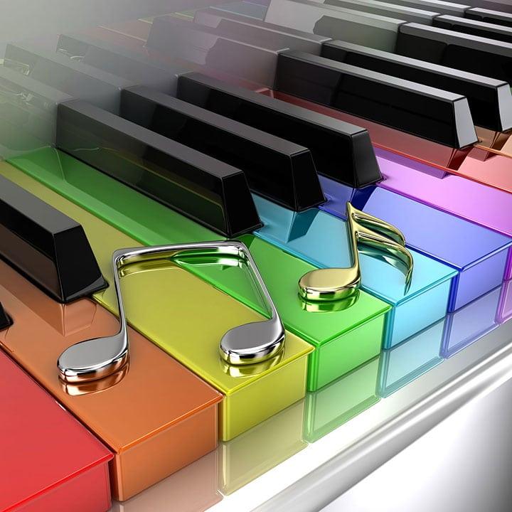 Những trò chơi thú vị để học piano cho bé