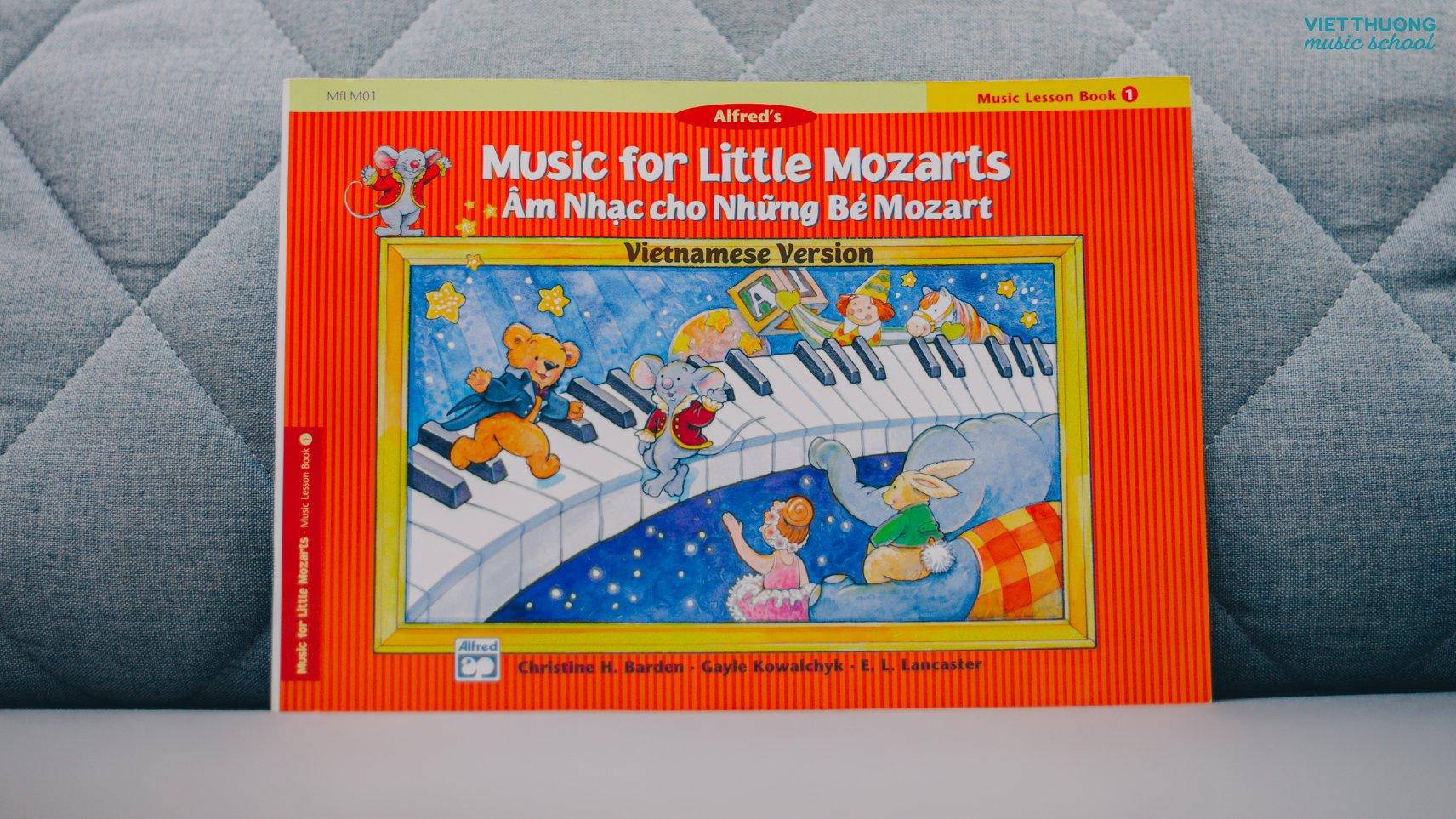 âm nhạc cho bé mozart