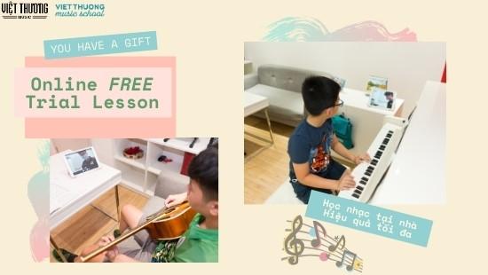 Giới thiệu về chương trình học online của Việt Thương Music School