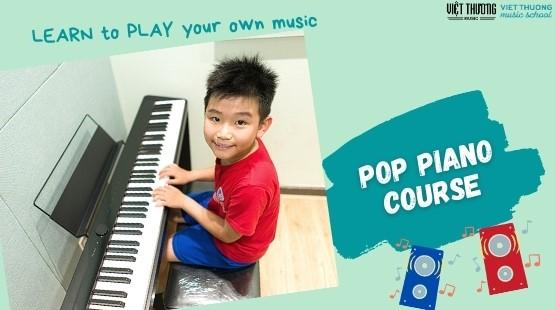 Việt Thương Music chiêu sinh bộ môn Popular Music Piano