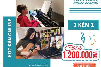 Khóa học đàn piano online 1 kèm 1 chất lượng cao