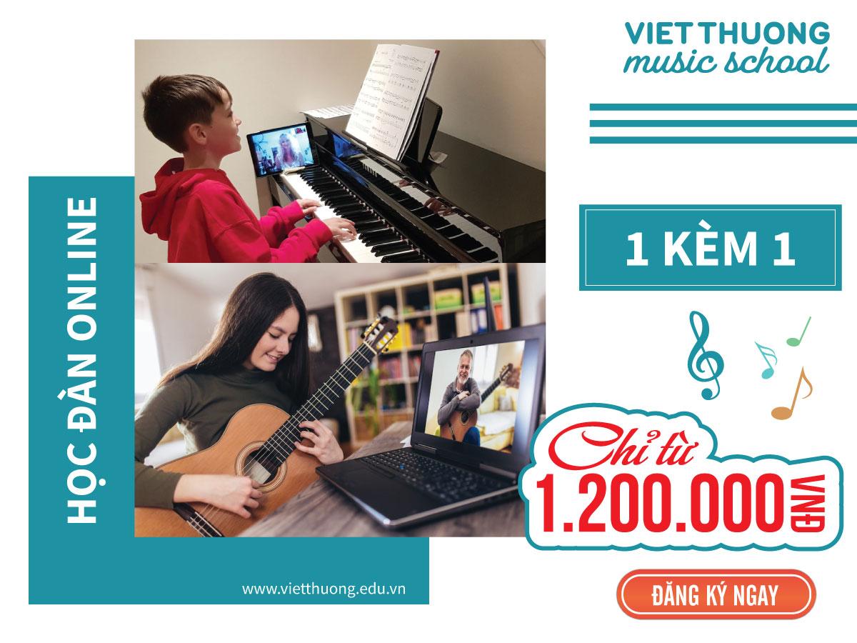 khóa học nhạc online vtms