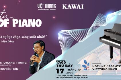Nhận voucher học nhạc trị giá 2 triệu khi tham gia workshop Piano tại Việt Thương
