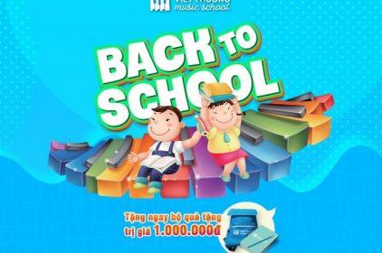 Ưu đãi hấp dẫn với chương trình Back to School
