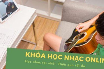 Khóa học guitar online tại Việt Thương Music