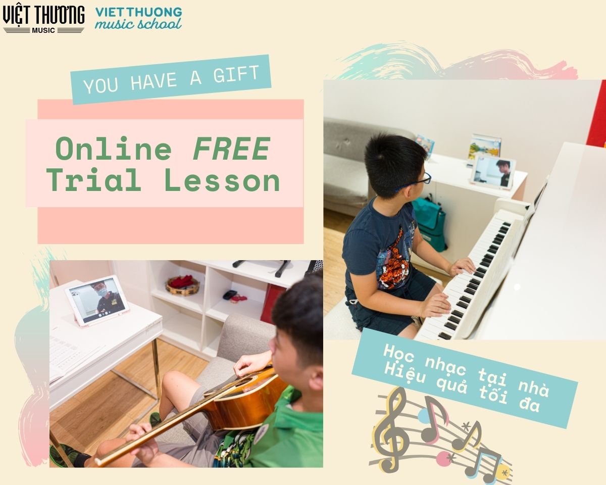 học đàn piano online tại việt thương