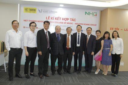 Nguyễn Hoàng Group phối hợp với Việt Thương School đưa chương trình GD Âm nhạc quốc tế vào giảng dạy