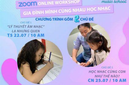 Online Workshop:Gia đình mình cùng nhau học nhạc