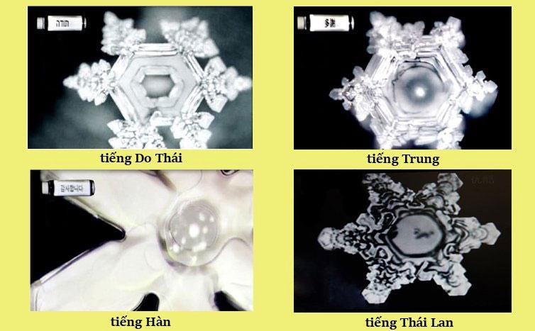 Những bài hát có giai điệu khác nhau, hình dạng nước thay đổi cũng sẽ khác nhau 7