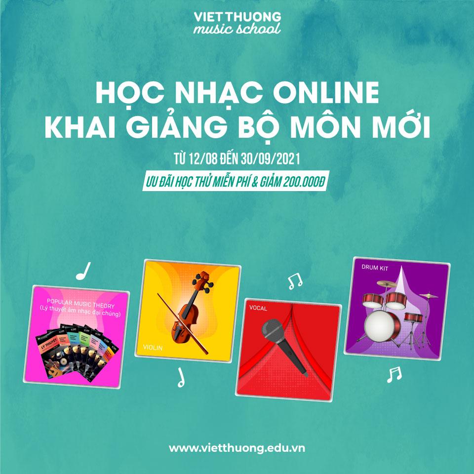Khai giảng các khóa học Online MỚI tại VTMS