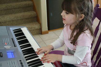 Bé 4 tuổi bắt đầu học nhạc như thế nào?